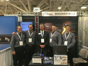 CastExpo 5 guys in a booth